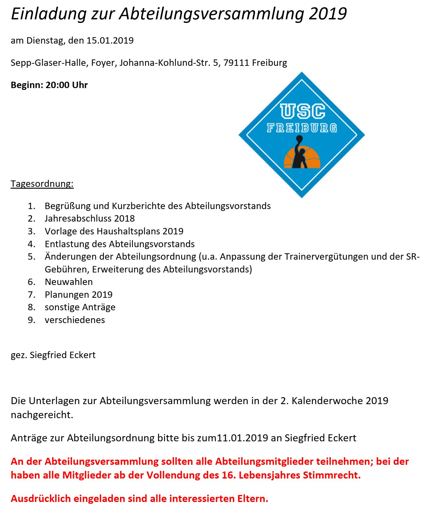 Herzlich Willkommen Bei Der Basketballabteilung Des Usc Freiburg